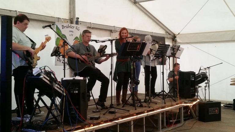 Erster Auftritt von Celtic Fire